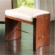 Global Views Cinch Bench-Walnut