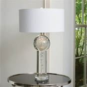 Global Views Clear Bubble Lamp