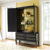 Global Views Collector's Cabinet-Black/Top Only
