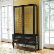 Global Views Collectors Cabinet-Black