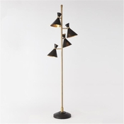 Global Views  Cone Lamp Multi