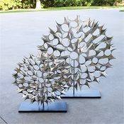 Global Views Cosmos Sculpture Nickel-Large