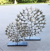 Global Views Cosmos Sculpture Nickel-Small