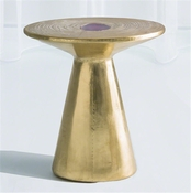 Global Views Cosmos Table-Brass