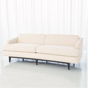 Global Views Crescent Sofa-Avada Ivory