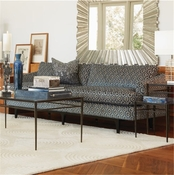 Global Views Crescent Sofa-Lucy Denim