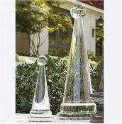Global Views Crystal Cone Obelisk-Large