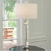 Global Views Crystal Tower Lamp