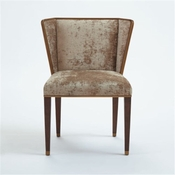 Global Views D'Oro Chair - Suna Velvet-Mushroom Color