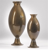 Global Views D'Oro Nero Urn-Small