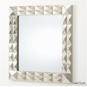 Global Views Davi Mirror-Silver
