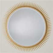 Global Views Eclipse Mirror-Gold Leaf-Large