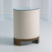 Global Views Ellipse Accent Table