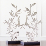 Global Views Enchanted Forest Sculpture-Nickel-Each