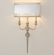 Global Views French Hardwired Wall Sconce