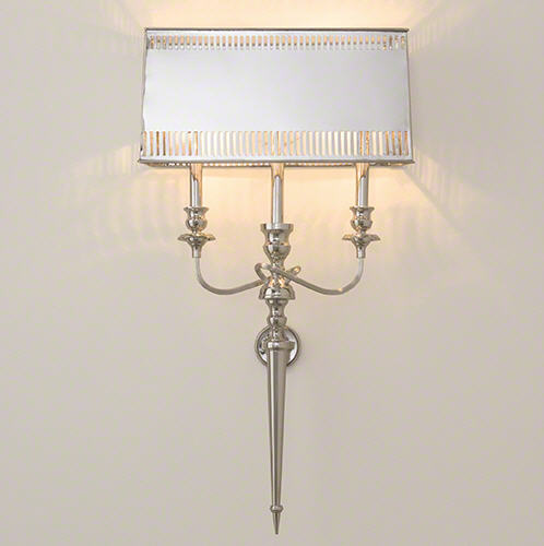 & Global Views French Hardwired Wall Sconce