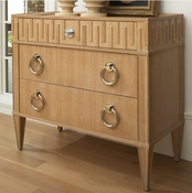 Global Views French Key Chest-Light Limed