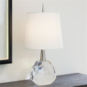 Global Views Gem Lamp-Nickel