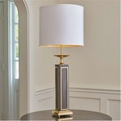 Global Views Grecco Lamp-Brass/Bronze-Large