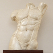 Global Views Heroic Torso Sculpture