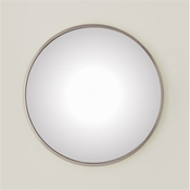 Global Views Hoop Mirror-Nickel-Medium