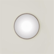 Global Views Hoop Mirror-Nickel-Small