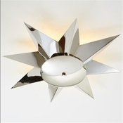 Global Views  Klismos Ceiling Fixture-Nickel