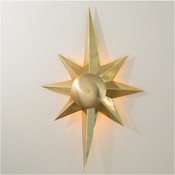 Global Views Klismos Star Sconce