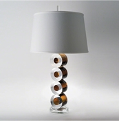 Global Views Leonardo Lamp-Brown