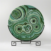 Global Views Malachite Flat Plate