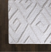 Global Views Maze Rug-Ivory-9' x 12'