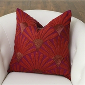 Global Views Mimosa Flower Pillow