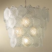 Global Views Murano Leaf Chandelier