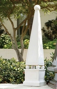 Global Views Obelisk-Matte White