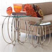 Global Views Oval Ring Table-Small