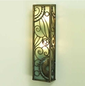 Global Views Paris Wall Sconce-Nickel