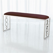 Global Views Progressive Ring Bench-Nickel-Sultana Lavender