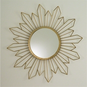 Global Views Radiance Mirror-Gold