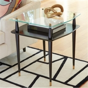 Global Views Reveal Side Table