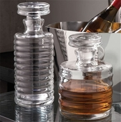Global Views Ribbed Decanter-Tall