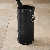 Global Views Ring Umbrella Stand-Black