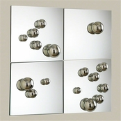 Global Views Set of 4 Sphere Mirrors