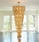 Global Views Sprocket Chandelier