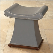 Global Views Sultan Bench-Grey
