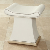 Global Views Sultan Bench-Ivory