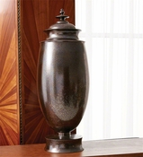 Global Views Tabernacle Jar-Deep Aubergine