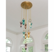 Global Views Tea Light Chandelier