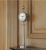 Global Views Tower Clock-Nickel