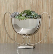 Global Views Trophy Compote-Nickel