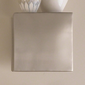 Global Views Wall Cube-Stainless Steel